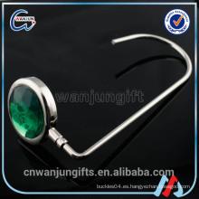 2016 gancho del broche de presión cristal para el bolso colgante