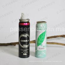 Lata de alumínio do aerossol do pulverizador da névoa para o pulverizador do perfume do corpo (PPC-AAC-030)