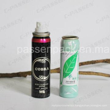 Aluminum Mist Spray Aerosol Can for Body Perfume Spray (PPC-AAC-030)