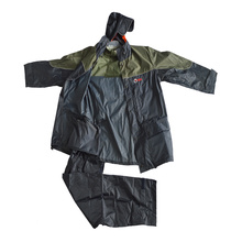moda chaqueta de lluvia de los hombres