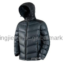 padded down jacket for man