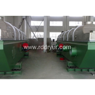 Vibrating fluid bed drier of fumaric acid