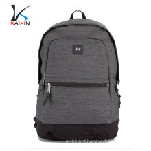 China wholesale school waterproof laptop backpack custom fabric backpack