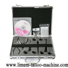 Conjunto quirúrgico de herramientas de perforación de cuerpo de acero quirúrgico de grado médico