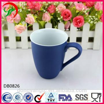 Tazas de cerámica del logotipo modificado para requisitos particulares al por mayor, taza de afeitar de cerámica
