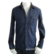 denim cotton shirt
