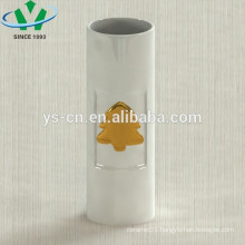 electroplating flowers pattern ceramic chinese vase antique