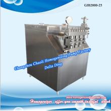 Ice cream dairy high pressure pump