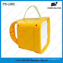 Rechargeble Solar LED Lantern with FM Radio Mobile Charging
