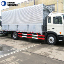 open wings van truck cargo truck