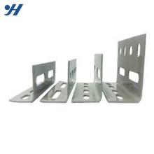 Angle en acier perforé de calibre égal en acier doux, galvanisé