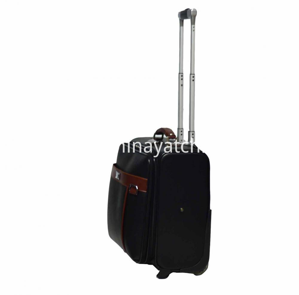 Carry on PU Laptop Suitcase