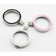 Фабрика Оптовая моды ювелирные изделия из нержавеющей стали 316L медальон с эмалью Топ