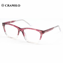 italy designer beautiful fashion women acetate optical frame