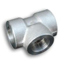 Acoplamiento de acero de la soldadura del zócalo