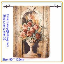Tige de tapisserie de mur de fleurs, tige de tapisserie murale de mode, tige de tapisseries d'europe