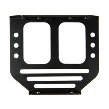 Custom cnc machining black anodize aluminum sheet parts