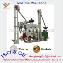 Mini planta automática de arroz