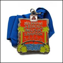 Kundenspezifische Medaille mit Vergoldung (GZHY-JZ-019)