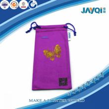 Purple Microfibra Mobile Phone Pouch