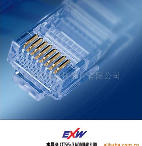 Gold Plated RJ45 Connector