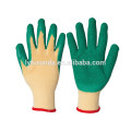 latex coated glove,polycotton glove coated with latex palm
