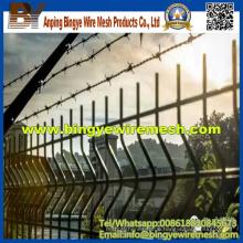 PVC-beschichteter geschweißter Draht-Mesh-Zaun für USA