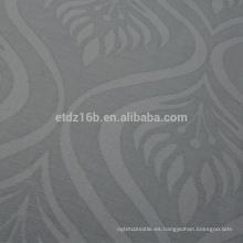 El nuevo lino 100% del poliester del diseño de la llama de la llegada tiene gusto de la tela de la cortina del telar jacquar