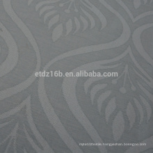 New arrival Flame Design 100% Polyester Linen Like Jacquard Curtain fabric