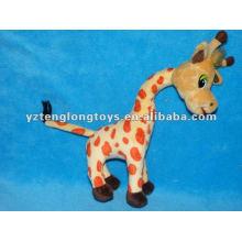 Juguetes de felpa rellenos de jirafa suave encantadora y linda