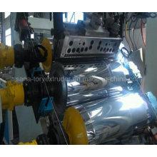 Máquina de fabricación de hoja plástica del ANIMAL DOMÉSTICO del solo extrusor del tornillo