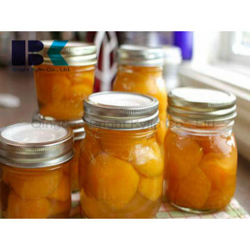Diverse Flavors of Canned Yellow Peach in Syrup