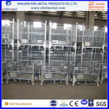 Складной статический стальной контейнер для оцинкованной стали для складирования