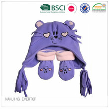 Funny Animal Hat And Gloves Set
