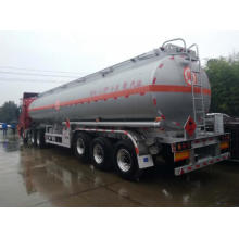 China for Aluminum Alloy Tanker 45,000 liters aluminum fuel tanker for petrol supply to Niger Factories