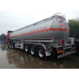 45,000 liters aluminum fuel tanker for petrol