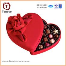 Nueva caja de regalo de embalaje de cartón de chocolate de moda