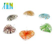 MC0016 precio al por mayor con Encanto Murano en forma de corazón colgantes de Murano HeartGlow Murano colgante de cristal de Murano
