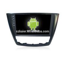 Четырехъядерный! Андроид 4.4/5.1 автомобильный DVD для RENAULT КОЛЕОС с 9-дюймовый емкостный экран/ сигнал/зеркало ссылку/видеорегистратор/ТМЗ/кабель obd2/интернет/4G с