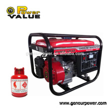 Factory discount generator 1000w~5000w lpg generator Natural Gas generator For Sale