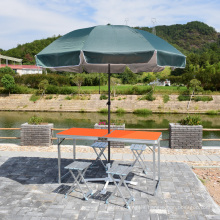 VIVINATURE Mesa de comedor plegable portátil de aluminio del partido de la comida campestre que acampa