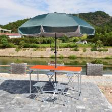 VIVINATURE Alumínio Dobrável Portátil Camping Piquenique Partido Mesa De Jantar