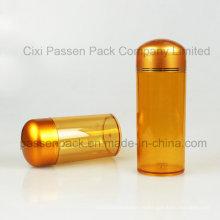 Bernstein Kunststoff Pharmazeutische Verpackung Flasche für Kapsel (PPC-PETM-016)