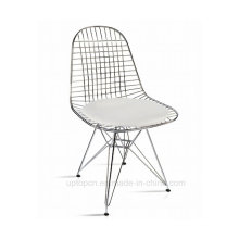 Fashionable Wire Cone Metal Eames Chair with Cushion (SP-MC023)