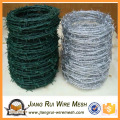 powered coated barbed wire