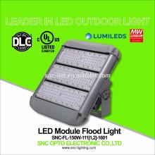 O UL DLC alistou a luz de inundação exterior do diodo emissor de luz de 150 watts com o suporte curto / longo da montagem