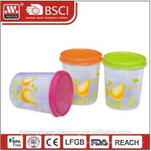 Recipiente de alimento plástico, utilidades domésticas (3,4 L)