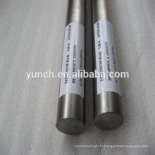 Barre titanique chirurgicale d'implant d'ASTM F136 Ti6Al4V