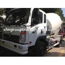 Sinotruk Ace 6CBM Small Concrete Mixer Truck