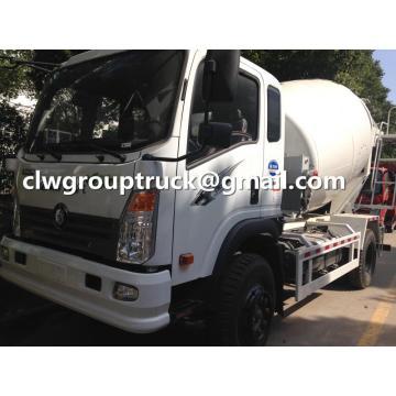 Sinotruk Ace 6CBM Camión mezclador de hormigón pequeño